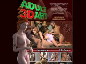 Adult 3D Art