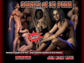 Scenes of 3D Porn
