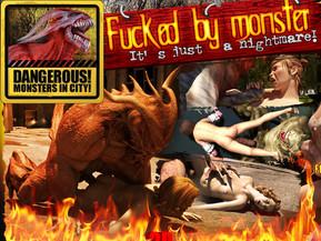 Monsters 3D Porn