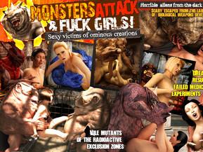 3d monster porn